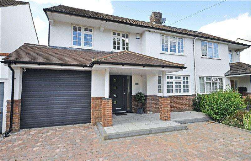 3 Bedrooms Semi Detached House for sale in Watford Road, Chiswell Green, St Albans, Hertfordshire