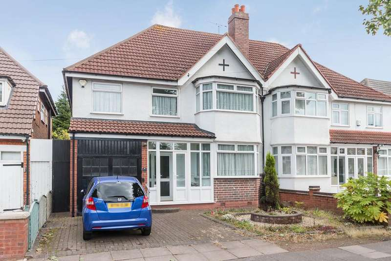 4 Bedrooms Semi Detached House for sale in Shirley Road, Hall Green