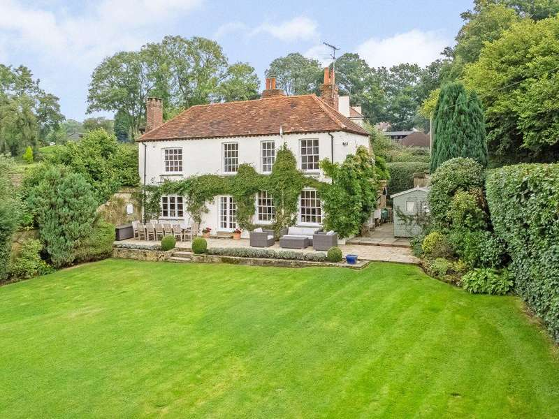4 Bedrooms Detached House for sale in Pursers Lane, Peaslake, Guildford, Surrey