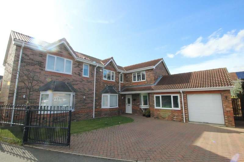 5 Bedrooms Detached House for sale in Rosedale Close, Normanton