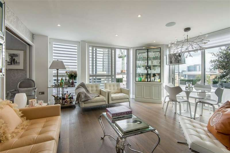 3 Bedrooms Penthouse Flat for sale in Decorum Apartments, N1