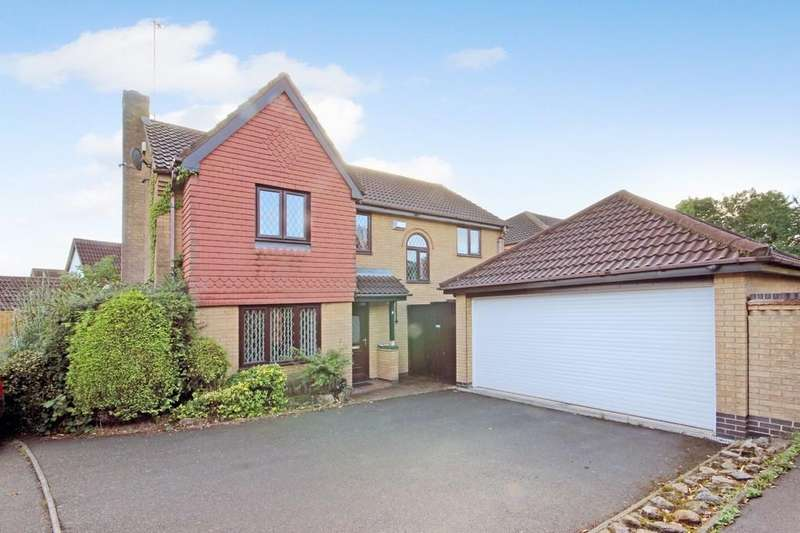 4 Bedrooms Detached House for sale in Chambers Close, Markfield