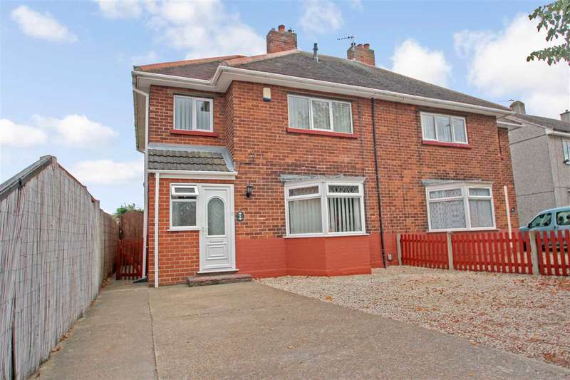 3 Bedrooms Semi Detached House for sale in Shannon Avenue, Lincoln