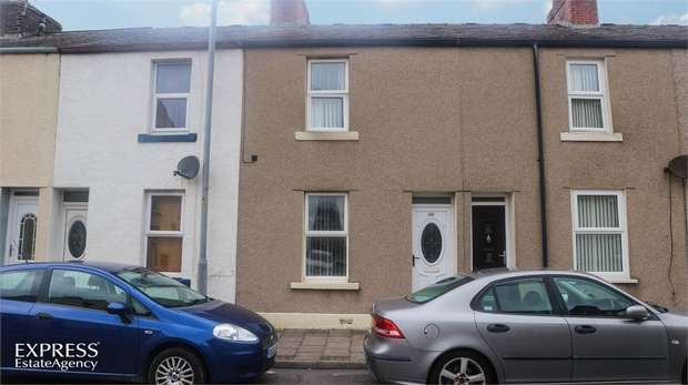 2 Bedrooms Terraced House for sale in Moss Bay Road, Workington, Cumbria