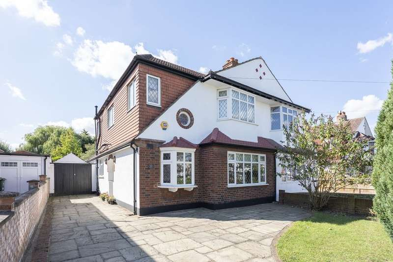 4 Bedrooms Semi Detached House for sale in Palmer Avenue, Cheam, Sutton, SM3