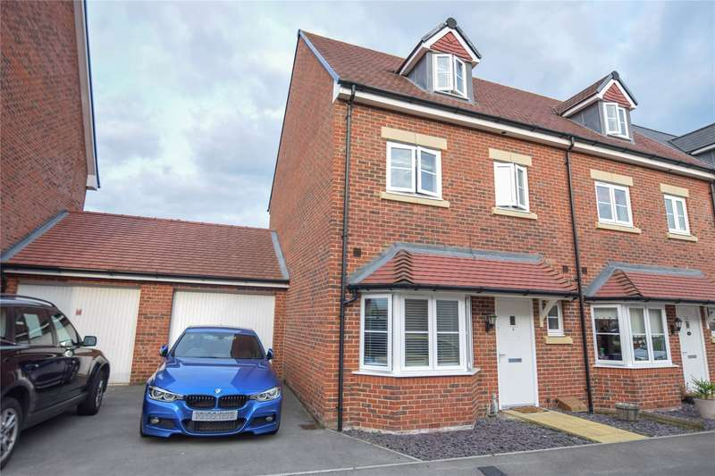 4 Bedrooms Semi Detached House for sale in Crane Road, Bracknell, Berkshire, RG12