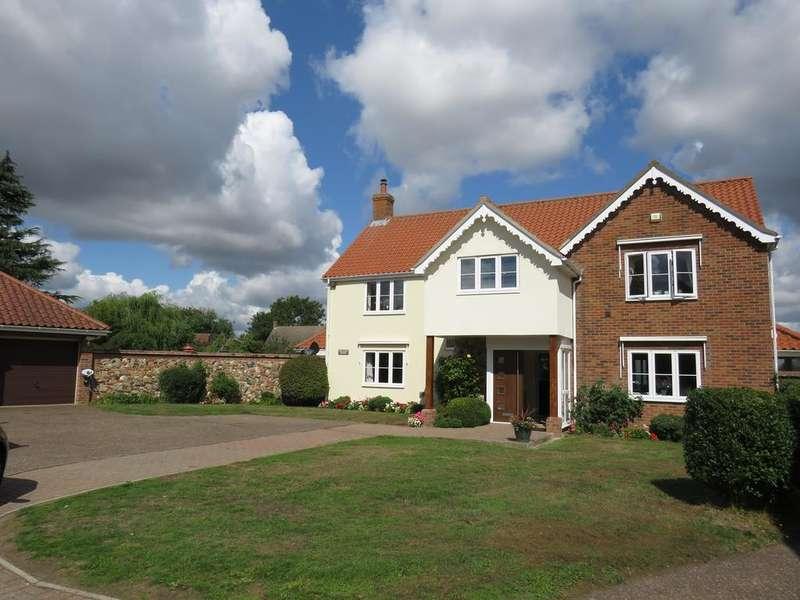 5 Bedrooms Detached House for sale in Half Monn Lane, Redgrave