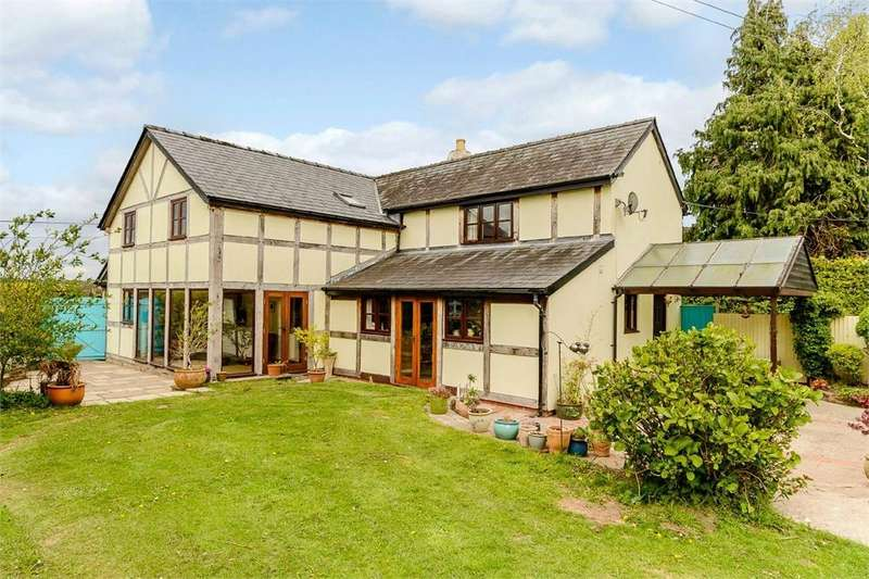 5 Bedrooms Detached House for sale in Shenmore, Herefordshire