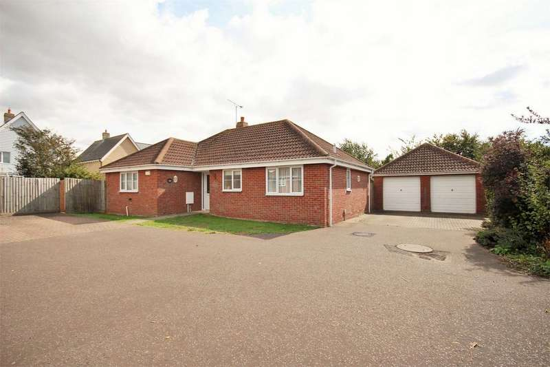 3 Bedrooms Detached Bungalow for sale in Suffolk Avenue, West Mersea, Colchester, Essex