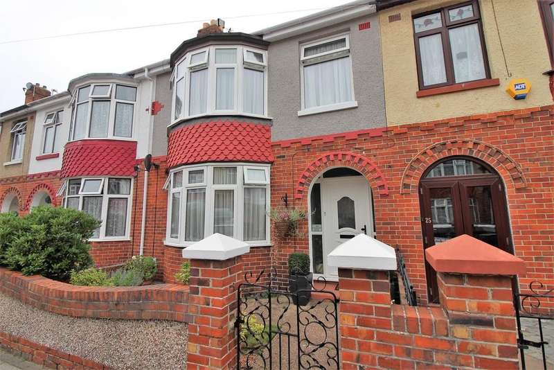 3 Bedrooms Terraced House for sale in Wallisdean Avenue, Baffins