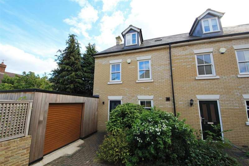 4 Bedrooms End Of Terrace House for sale in Cavendish Court, Cambridge