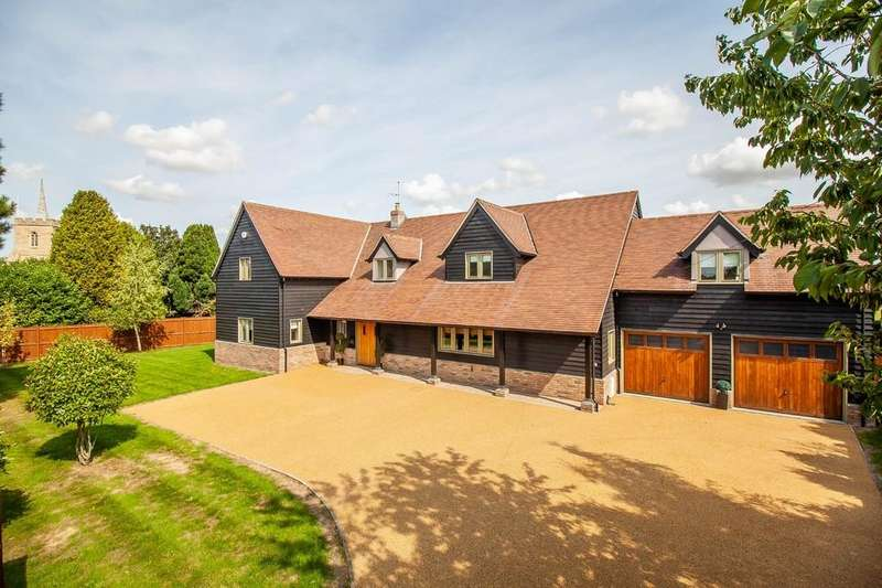 5 Bedrooms Detached House for sale in Church Street, Thriplow