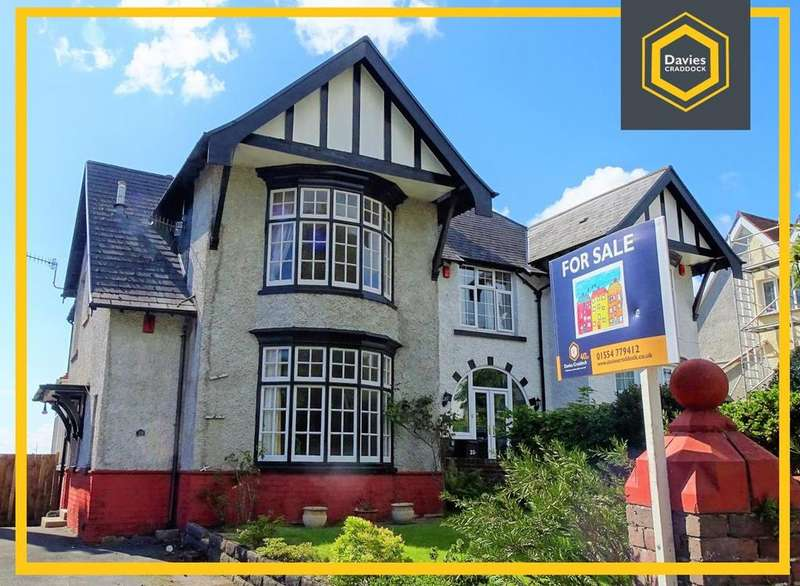 4 Bedrooms Semi Detached House for sale in Old Road, Llanelli, SA15