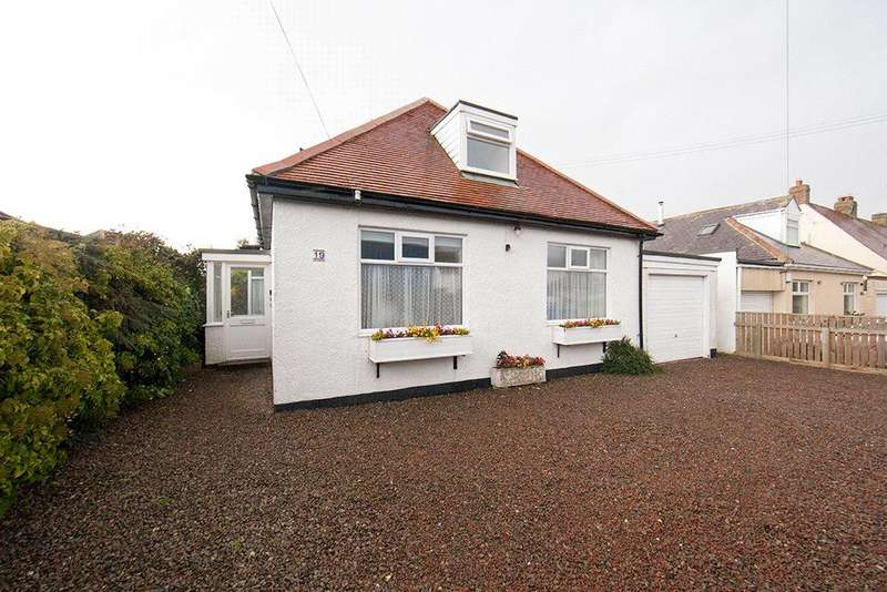 4 Bedrooms Detached Bungalow for sale in Swinhoe Road, Beadnell, NE67