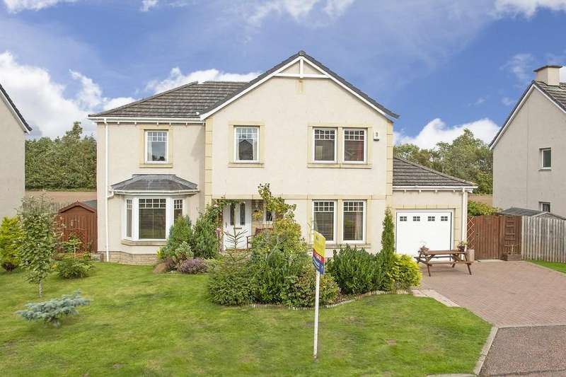 4 Bedrooms Detached House for sale in Glamis Crescent, Inchture