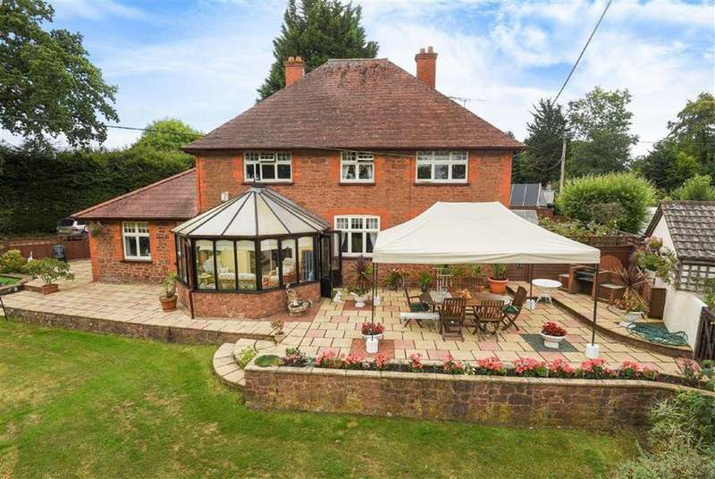 4 Bedrooms Detached House for sale in Crowcombe, Taunton, Somerset, TA4