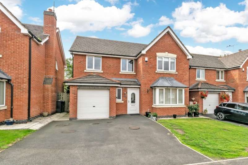 4 Bedrooms Detached House for sale in Meadowside, Frodsham, WA6