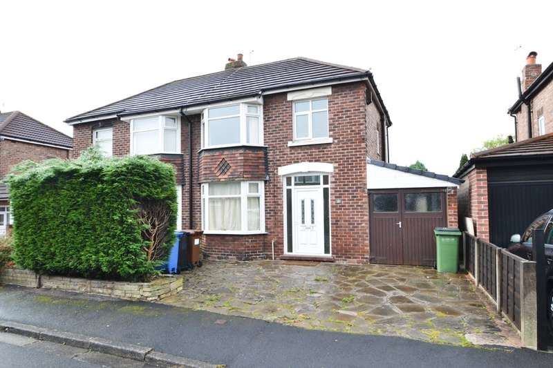 3 Bedrooms Semi Detached House for sale in Aber Road, Cheadle