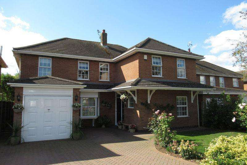 5 Bedrooms Detached House for sale in Pallett Drive, Nuneaton