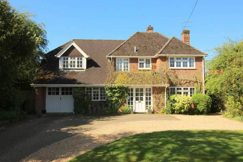 4 Bedrooms Detached House for sale in Upper Wield, Alresford