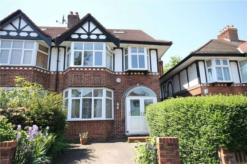 4 Bedrooms Semi Detached House for sale in Brunswick Gardens, London, W5