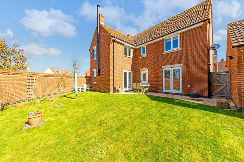 4 Bedrooms Detached House for sale in Riglen Close, Lidlington, Bedfordshire, MK43 0US