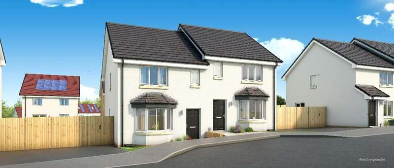 3 Bedrooms Semi Detached House for sale in The Buchanan Early Braes, Hallhill Road, Barlanark, Glasgow, G33 4QJ
