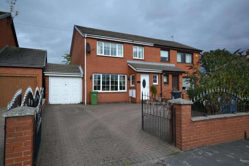 3 Bedrooms Semi Detached House for sale in Liverpool Road, Great Sankey, Warrington