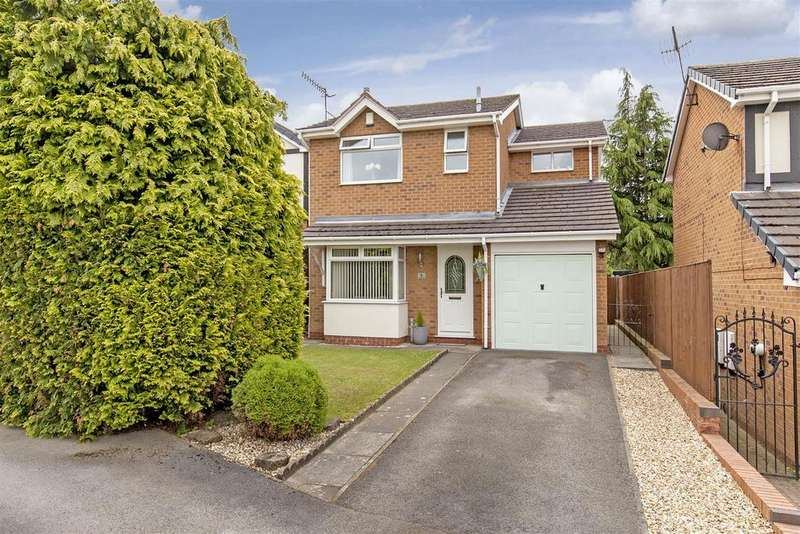 3 Bedrooms Detached House for sale in Healaugh Way, Chesterfield