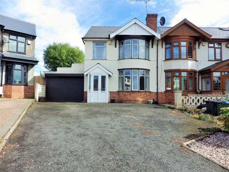 3 Bedrooms Semi Detached House for sale in Barrs Crescent, Cradley Heath