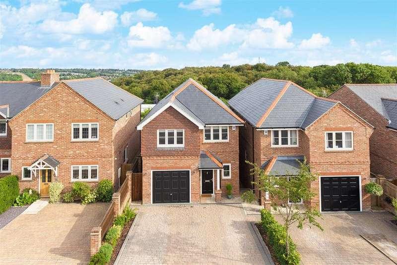 4 Bedrooms Detached House for sale in Littleworth Road, Downley Village
