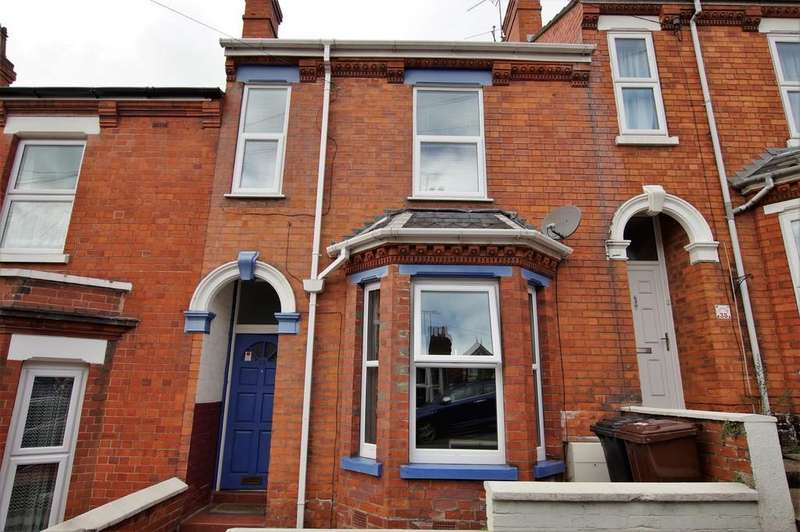 3 Bedrooms Terraced House for sale in Arboretum Avenue, Lincoln