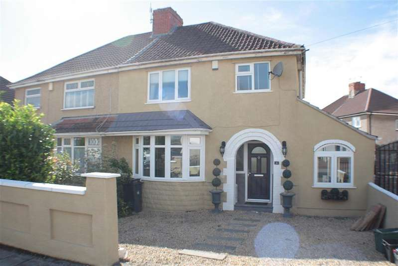 3 Bedrooms Semi Detached House for sale in Alexandra Road, Uplands, Bristol, BS13 7DE