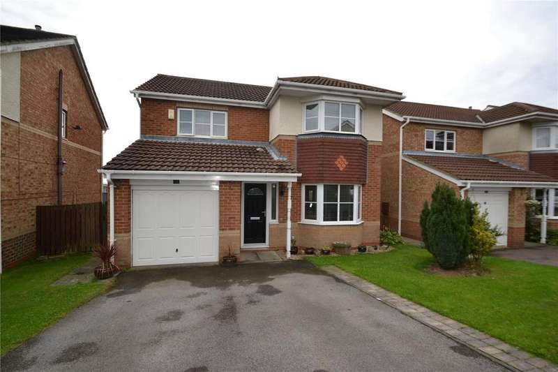 4 Bedrooms Detached House for sale in Willerby Grove, Peterlee, Co. Durham, SR8