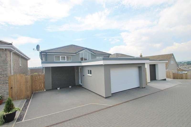 4 Bedrooms Detached House for sale in Garden Court, Parkesway, Saltash
