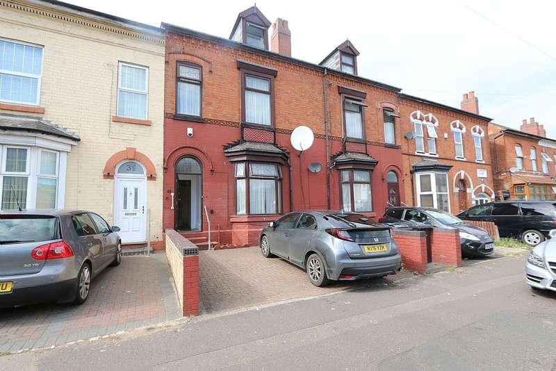 5 Bedrooms Terraced House for sale in Golden Hillock Road, Small heath, Birmingham, West Midlands, B10 0JU