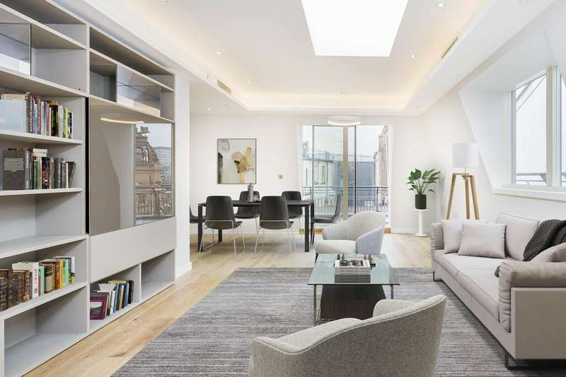 3 Bedrooms Apartment Flat for sale in Great Newport Street, Covent Garden