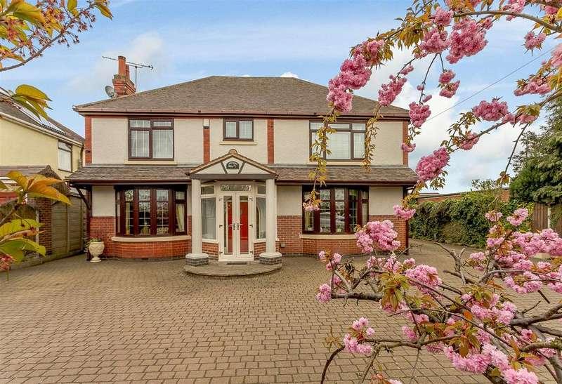 4 Bedrooms Detached House for sale in Watling Street, Nuneaton