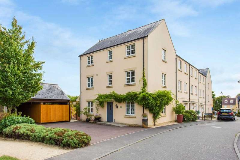 5 Bedrooms End Of Terrace House for sale in Ashcombe Crescent, Witney, OX28 6GL, UK