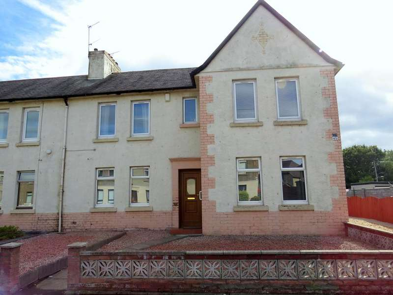 2 Bedrooms Ground Flat for sale in South Marshall Street, Grangemouth FK3