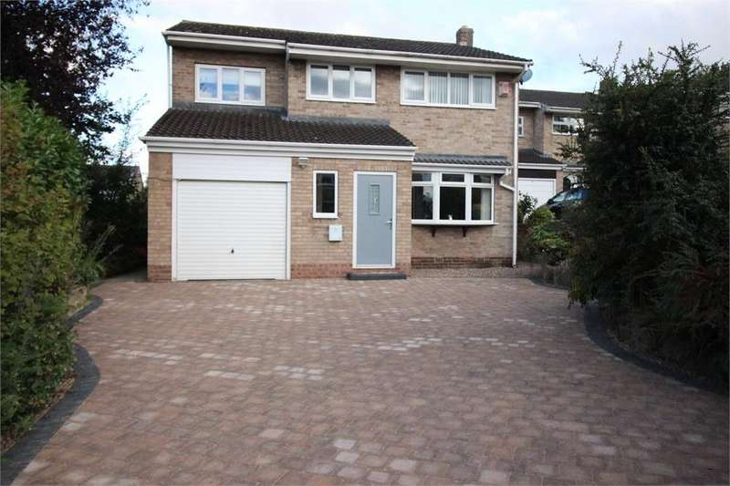 4 Bedrooms Detached House for sale in Orchid Way, South Anston, Sheffield, South Yorkshire