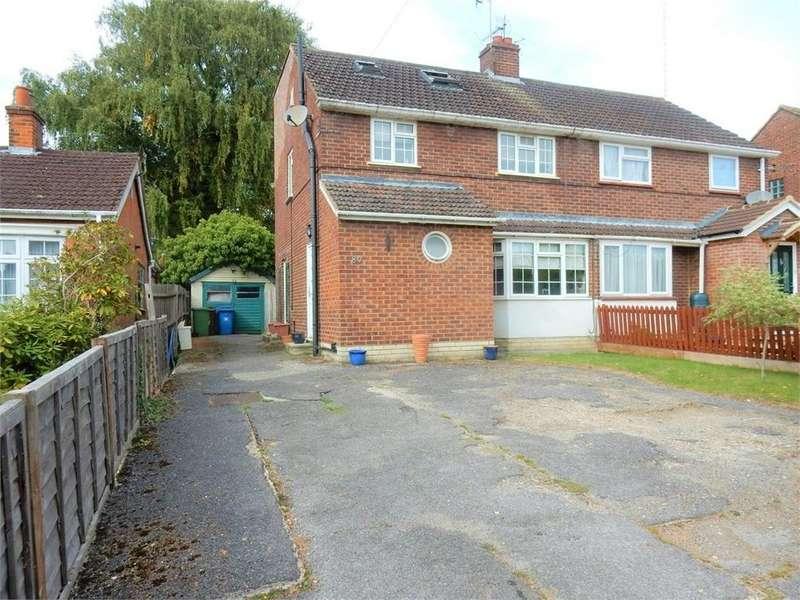 4 Bedrooms Semi Detached House for sale in Owlsmoor Road, Owlsmoor, SANDHURST, Berkshire