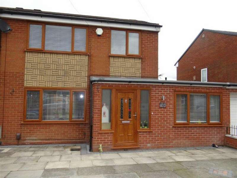 3 Bedrooms Semi Detached House for sale in Abbey Road, Lowton, Nr Warrington