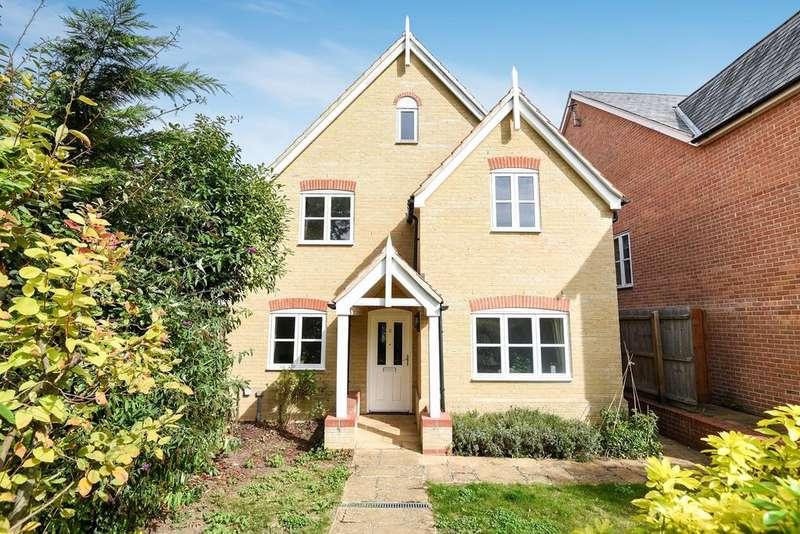 4 Bedrooms Detached House for sale in Rupert Neve Close, MELBOURN, SG8
