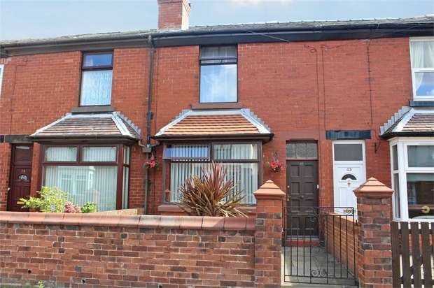 2 Bedrooms Terraced House for sale in Yarrow Road, Chorley, Lancashire