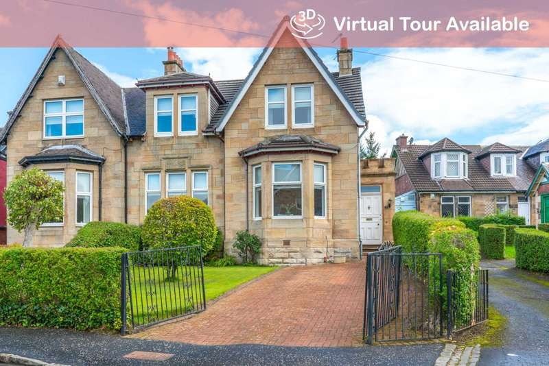 3 Bedrooms Semi Detached House for sale in Jerviston Street, Motherwell