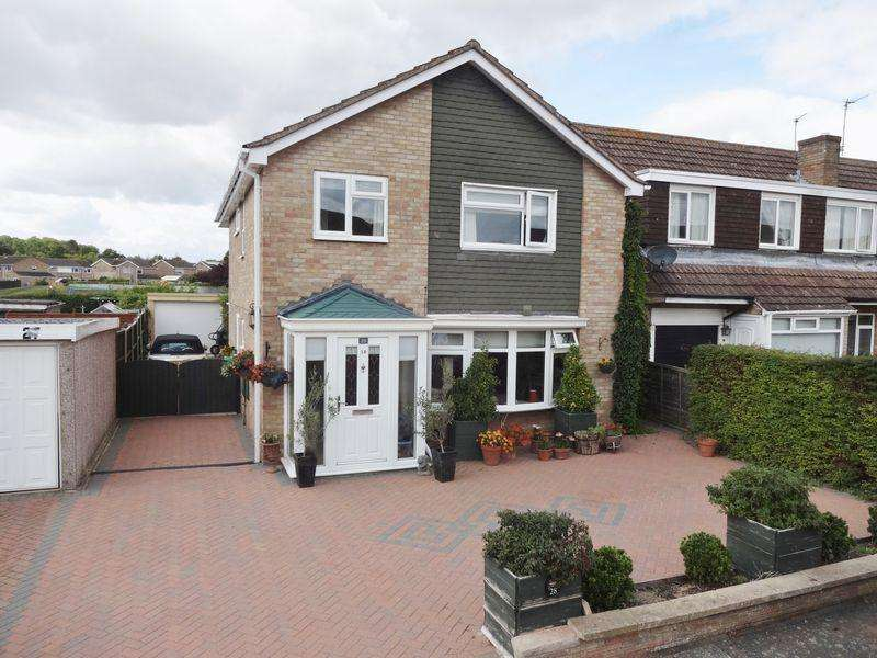 4 Bedrooms Detached House for sale in Stavanger Close, Corby