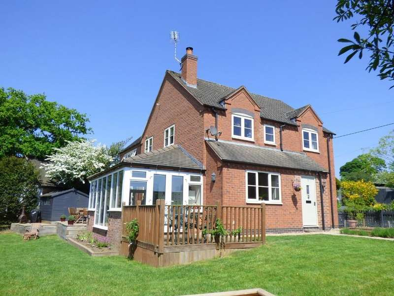 4 Bedrooms Detached House for sale in Hulland Village