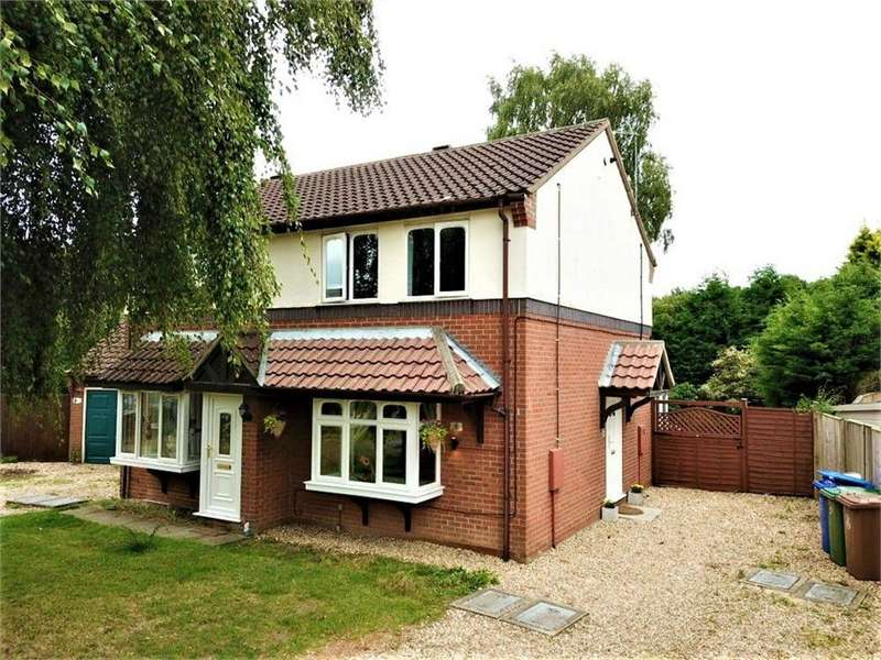 2 Bedrooms Semi Detached House for sale in Burrows Close, Boston, Lincolnshire
