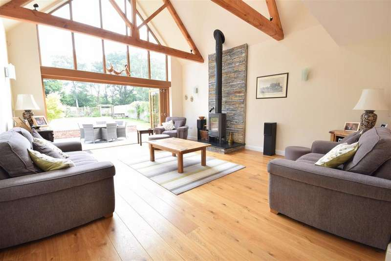 4 Bedrooms Detached House for sale in Morgay Wood Lane, Three Oaks, Hastings